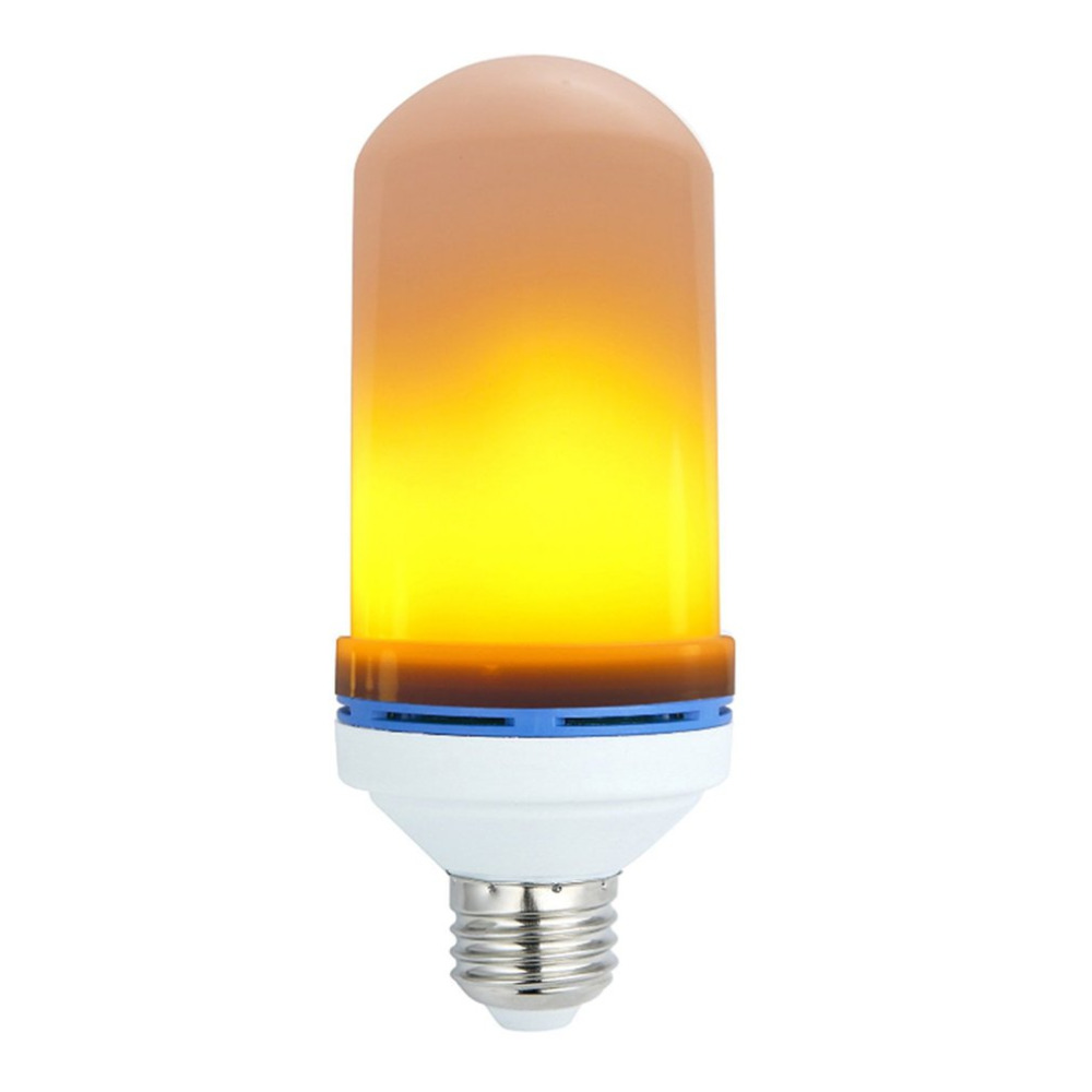 E27 7W LED Flame Effect Fire Light Bulbs Flickering Emulation Decorative Lamps Simulated Vintage Flame Bulb for Club Bar Bedroom