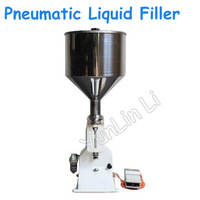 Pneumatic Liquid Filling Machine Small Dose Stainless Steel Filling Machine Large Capacity Paste Filler A02