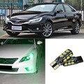 2 pcs Avançada Largura Lâmpadas LED Car Wedge Lâmpada Luz de Advertência Para Toyota Carolla