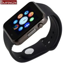 T2 bluetooth smart watch para el teléfono android soporte sim/tf hombres mujeres correa de silicona reloj deportivo para mi xiao pk dz09 GT08