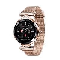 2019 H1 Luxury Smart Watch Women Bracelet IP67 Waterproof Blood Pressure Heart Rate Monitor Health Smartwatch reloj Bracelet