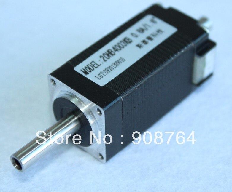 M059 20hb4003kb Hollow Double Shaft Nema 8 Stepper Motor