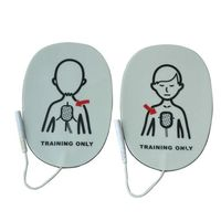 Hot 100 Pairs/Pack Children AED Training Machine Electrode Pads Replacement Simulated first Aid Training AED Patches
