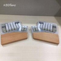 Ergodox Wrist Black Walnut Solid Wood Hand Wooden Wrist Rest For Ergodox Mechanical Keyboard