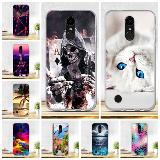 the latest f09fc 97d7c US $1.02 7% OFF|Phone Cases For LG K4 2017 LV1 M160 LG Phoenix 3 USA  Version LG Fortune 5.0 inch Covers Soft Silicone Back Case For LG K4  2017-in ...