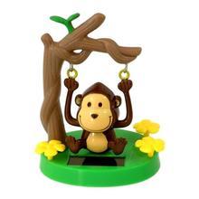 Voiture décor solaire alimenté danse Animal oscillant animé Bobble danseur jouet enfants jouets cadeau Portable achat en gros