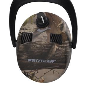 Image 2 - Protear อิเล็กทรอนิกส์ป้องกันหูการล่าสัตว์หู Muff พิมพ์ยุทธวิธีหูฟัง Hearing หูฟังป้องกันหูฟังสำหรับล่าสัตว์