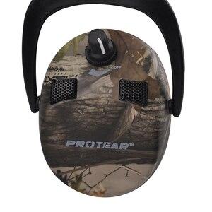 Image 2 - Protear אלקטרוני אוזן הגנת ירי ציד ידונית אוזן הדפסת טקטי אוזניות שמיעה אוזן אוזני הגנת לציד