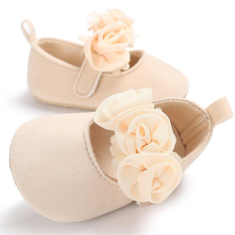 Crib-Shoes Sneakers Prewalker Anti-Slip Soft-Sole Toddler Newborn Baby-Girls FJ88