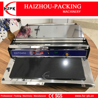 HZPK Manual Wrapping Machine Hand Wapper Packing Machine Fresh Plastic Film Wrapper For Fruits And Vegetables Preservation 45cm