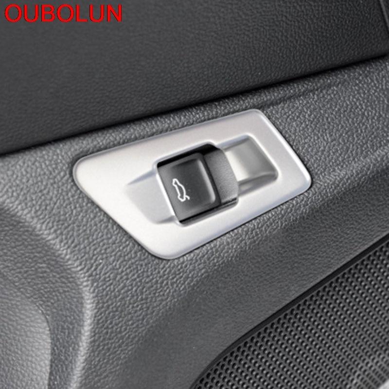 Car Interior Rear Trunk Door Handle Cover Trim For Kia Sportage 2017 2018 2019