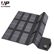 ALLPOWERS Mobile Phone Chargers Smartphone Charger 5V 12V 18V 100W USB DC Solar Panel Battery Pack for Laptop Tablet Sony HTC LG