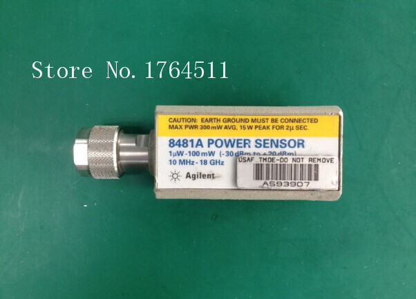[BELLA] Agilent 8481A 10MHZ-18GHZ Power 1uW-100mW -30dBto+20dB Probe