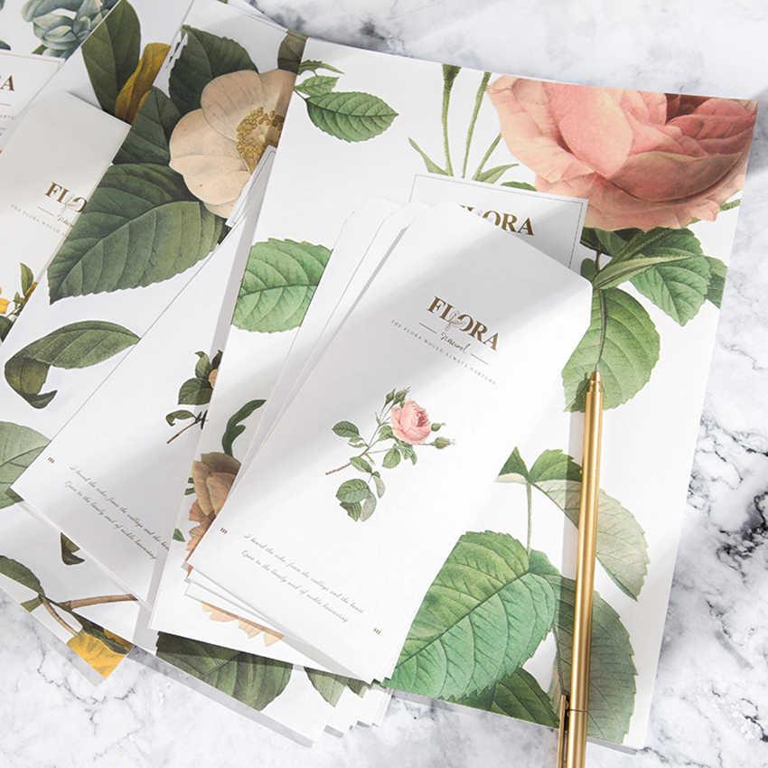 24 แผ่นกระดาษจดหมาย + 12 Pcs ซองชุด Express Love Letter Flora พืชการเขียนการ์ดอวยพรวันเกิดข้อความเครื่องเขียน