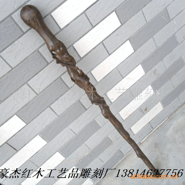Black African Ebony Cane Cane Branch Wood Mahogany Tree Root Cane Cane Cane Can Be Customized