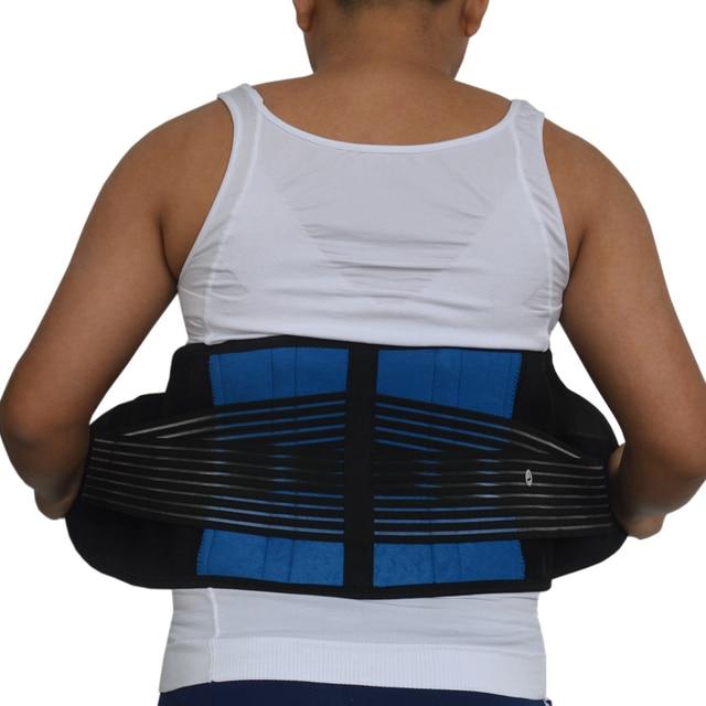 Neoprene Sports Waist Posture Corrector Belt Lumbar Support Back Brace Household Pressurized Disc Herniation Tummy Trimmer Belt 5