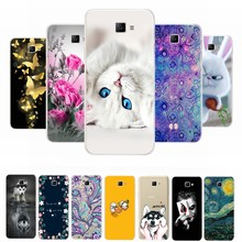 Phone Case For Samsung Galaxy A3 A5 2016 2017 Cases Coque Soft Silicone TPU Cute Cat Painted Back Cover For Samsung A 3 A 5 Case(China)
