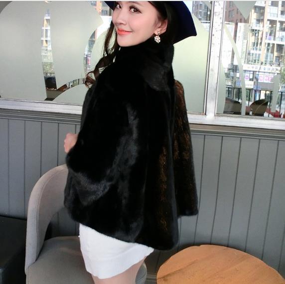 Fausse Fourrure Veste Taille Femmes Z167 Manteau Faux Outwear Plus Artificielle En De D'hiver Nouveau Femme 2018 La Chaud Ytw0nXpO0