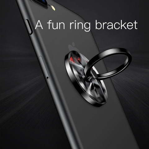 Baseus Finger Spinner Holder Bracket Universal Phone Ring Holder Stand For iPhone 7 6 360 Degree Mobile Phone Finger Ring Holder Multan