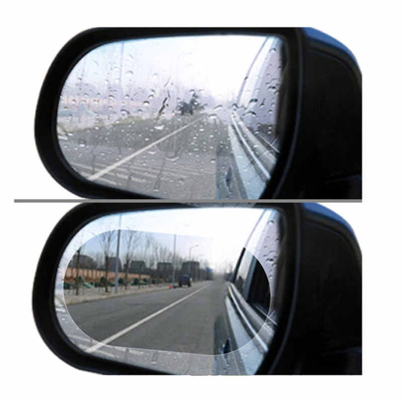 2 Buah Mobil Kaca Spion Tahan Air dan Anti-Kabut Film untuk Mazda 2 5 8 Mazda 3 Axela Mazda 6 ATENZA CX-3 CX-4 CX-5 CX5 CX-7 CX-9