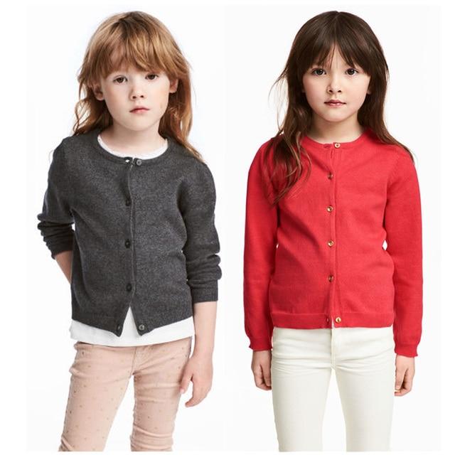 Children Girl Sweater Sets Kids Cotton Knit Cardigan Sets Baby Girls