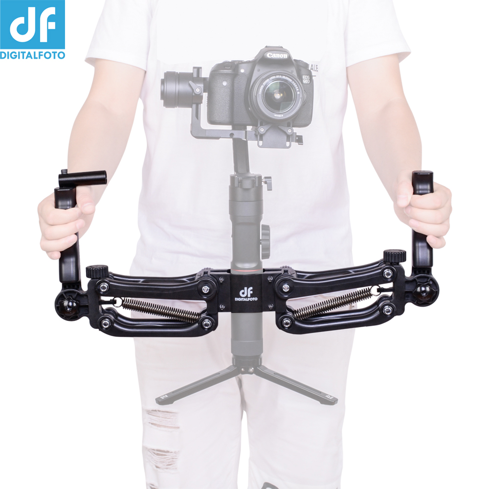 DH04 Z axis damping spring Dual Handle  for ZHIYUN  crane 2 AK2000  MOZA DJI Ronin S / SC Smooth 4 OSMO 2 3 axis gimbal-in Gimbal Accessories from Consumer Electronics    1