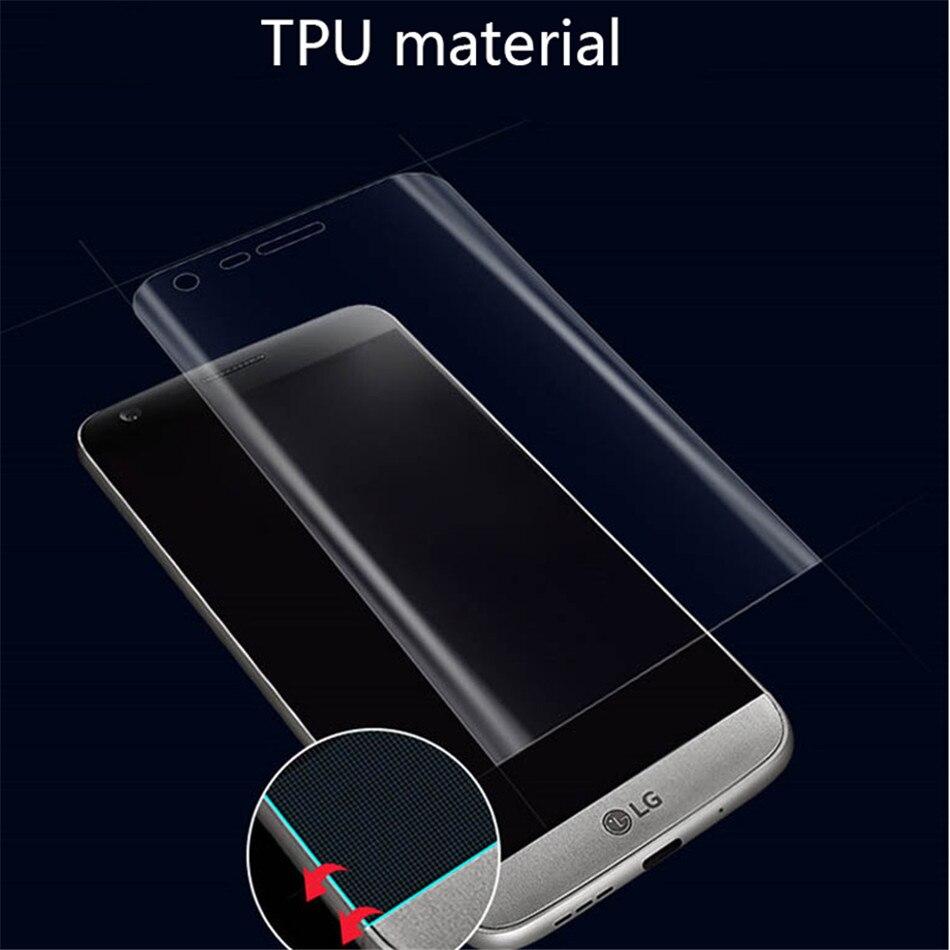 Hydrogel Film For LG V30 3D Screen Protector Protective Film For LG V20 G5 G6 G7   (3)