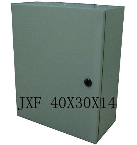 Power Distribution Box JXF Metal Distribution box 40x30x14 electronic enclosure boxes JXF-403014  цены