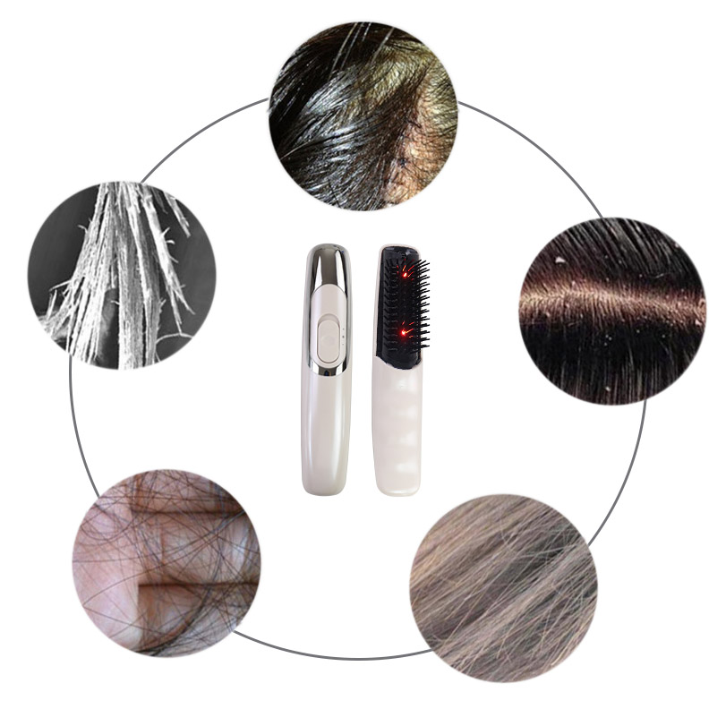 Hair Growth Care Treatment Laser Massage Comb Hair Comb Massage Equipment Comb Hair Brush Grow Laser Hair Loss Therapy