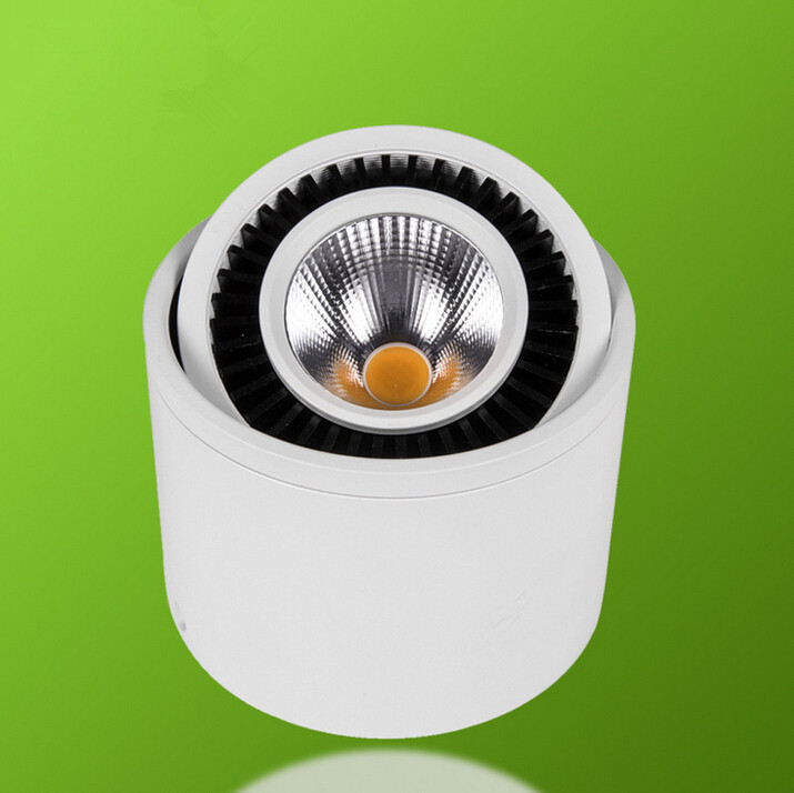 ⃝Free Shipping Dimmable 7W/10W/15W Led COB Ceiling LED Downlight 85 ...