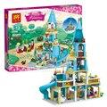 Nuevo 37008 Chica Amigos Princesa Anna y El Castillo de La Princesa Kits de Edificio Modelo Bloques Ladrillos Juguetes de Niña Compatible para Legoe