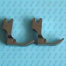 High Shank Double Toe Medium Hinged Zipper Foot  #121946 (2PCS)