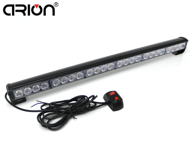 72w 24 led emergency traffic hazard flash strobe light bar warning 72w 24 led emergency traffic hazard flash strobe light bar warning yellow white blue amber red mozeypictures Gallery