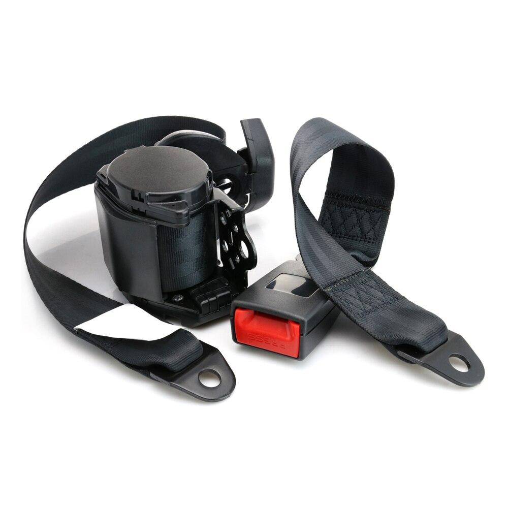 BMW Car Seat Cintura Fibbia Cinturino Regolabile Rosso Sicurezza migliorare il sostegno Clip Cinturino Tappo
