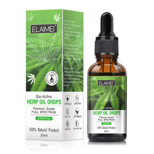 30ml Pure Organic Essential Hemp Oil 2000MG Herbal Drops Bod
