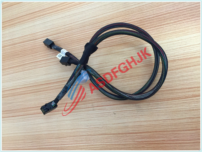 Original stock FOR DELL FOR  POWEREDGE T630 PERC H330 H730 H730P SAS TO DUAL HD SFF-8087 CABLE MV0P5 100% work perfectly кабель для сервера dell sas connector external cable 2м 470 11676r 470 11676r