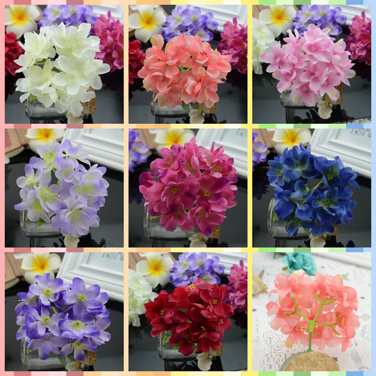 2016 artificial flowers good simulation flower hydrangea silk cloth 2016 artificial flowers good simulation flower hydrangea silk cloth flowers small bouquet head diy wedding arches decorated flow in artificial dried mightylinksfo