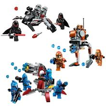 New STAR WARS Shadow Senate Commando Geonosis Building Blocks Bricks Clone War Action Figures Starwars Toys myeddis