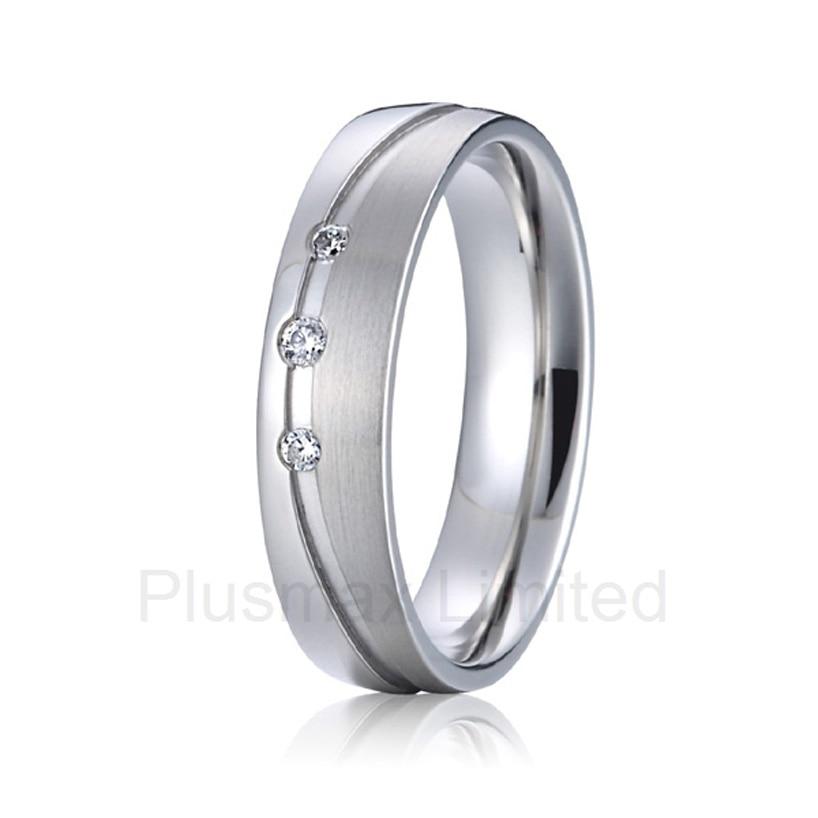 2016 oem/odm муж и жена Pure Titanium ювелирные изделия партнера обещание обручальные кольца