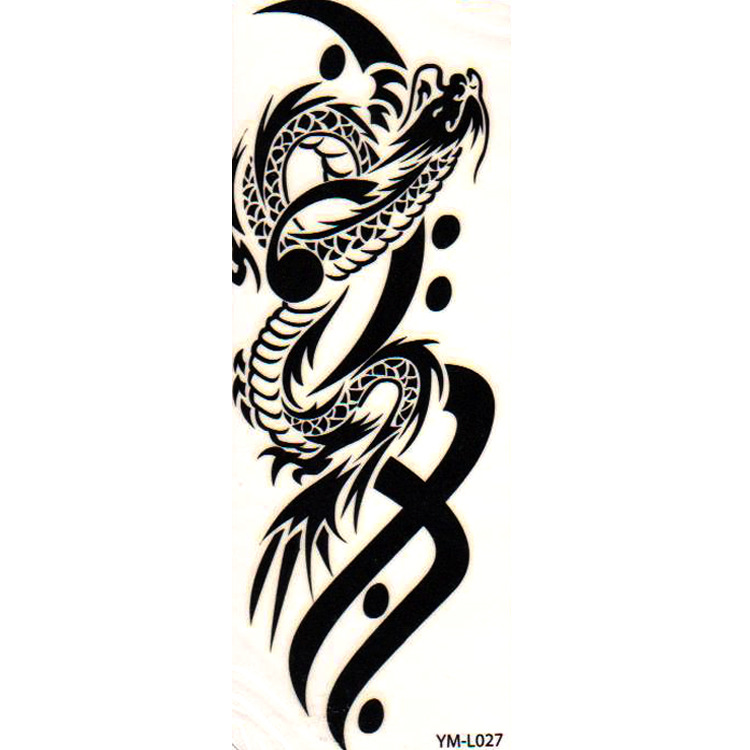 Descartáveis Tatuagem Tatuagem Homem Adesivos Masculino