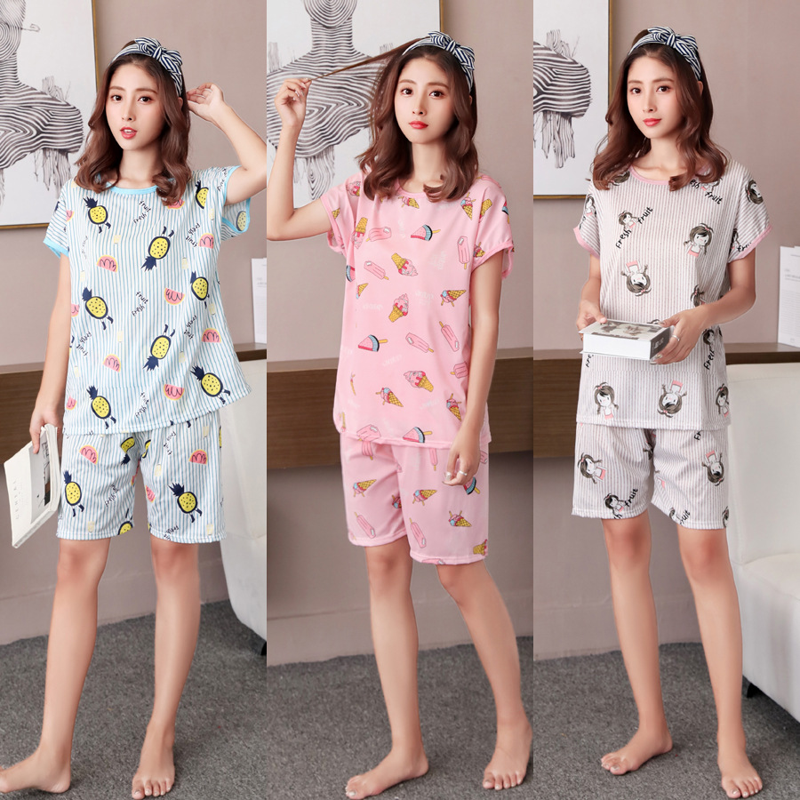 Pajama     Set   Women Sleepwear   Pajamas   For Women Women Clothes 2019 Pijama For Women 1062