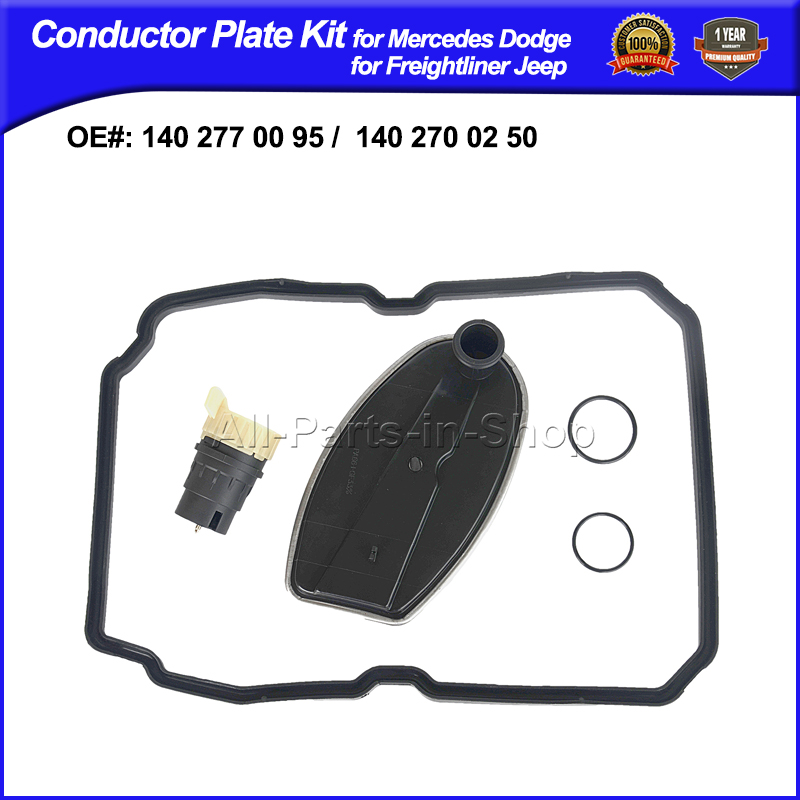 Filter,Gasket,13-pin Connector, Conductor Plate Accessory Kit for Mercedes Jeep Chrysler OE# 1402710080,2035400253 1402770095