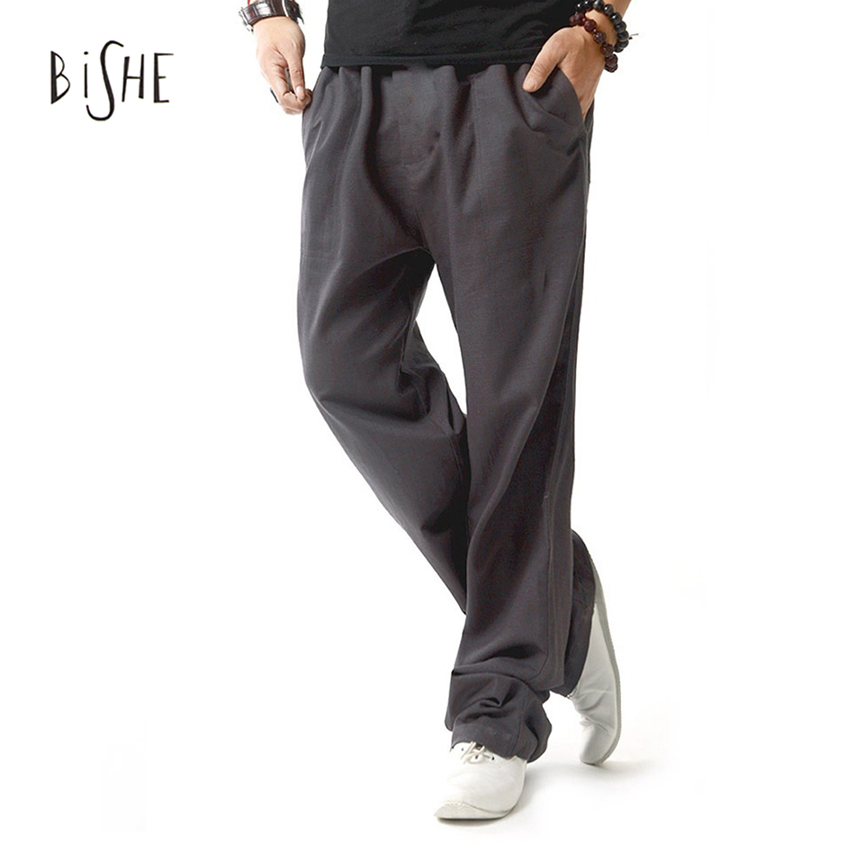 Popular Men Drawstring Linen Pants-Buy Cheap Men Drawstring Linen ...