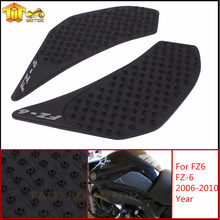 Motorcycle Anti slip Tank Pad 3M Side Gas Knee Grip Traction Pads Protector Stickers For Yamaha FZ6 FZ-6 FZ 6 fz6 2006 2007-2010(China)