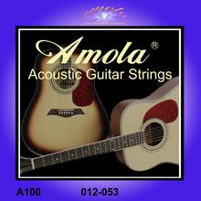 Original Amola 012-053 Acoustic guitar strings for acoustic guitar accessories A100 guitar parts wholesale