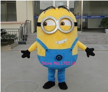 Despicable Me 2 Mascot Costume Despicable Me minion traje da mascote traje fantasia caricatura 2 m advertising figure despicable me advertising inflatable minion