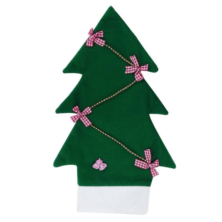 Hot christmas tree shape wine bottle sets home party for Wine bottle christmas tree frame for sale