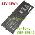 15 В 48WH Оригинальные VGP-BPS40 Аккумулятор Для Ноутбука SONY Vaio Флип SVF 15А SVF15N17CXB SVF15N18PXB SVF15N28PXB 14А SVF14N SVF14NA1UL