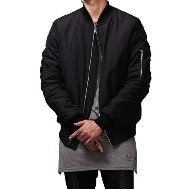 2016 Fashion Hi Street Men Bomber Jacket Men Hip Hop Slim Fits Windbreaker Jacket Coat Z1232