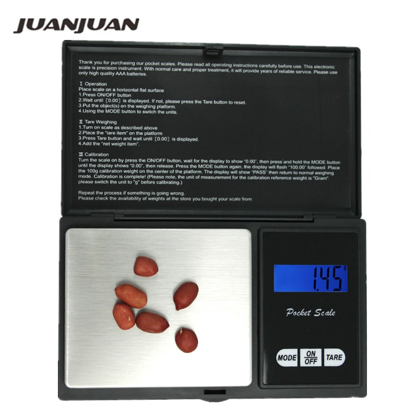 10pcs 200g x 0 01g Digital Scale Precision Balance Pocket Electronic for Gold Sterling Silver Jewelry